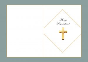 Swift Memorial Cards Waterford Design Memorial Card Remembrance