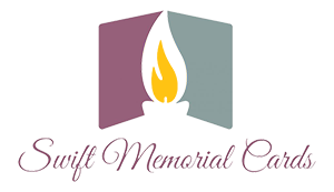 Swift Memorial Cards Waterford Design Remembrance Logo