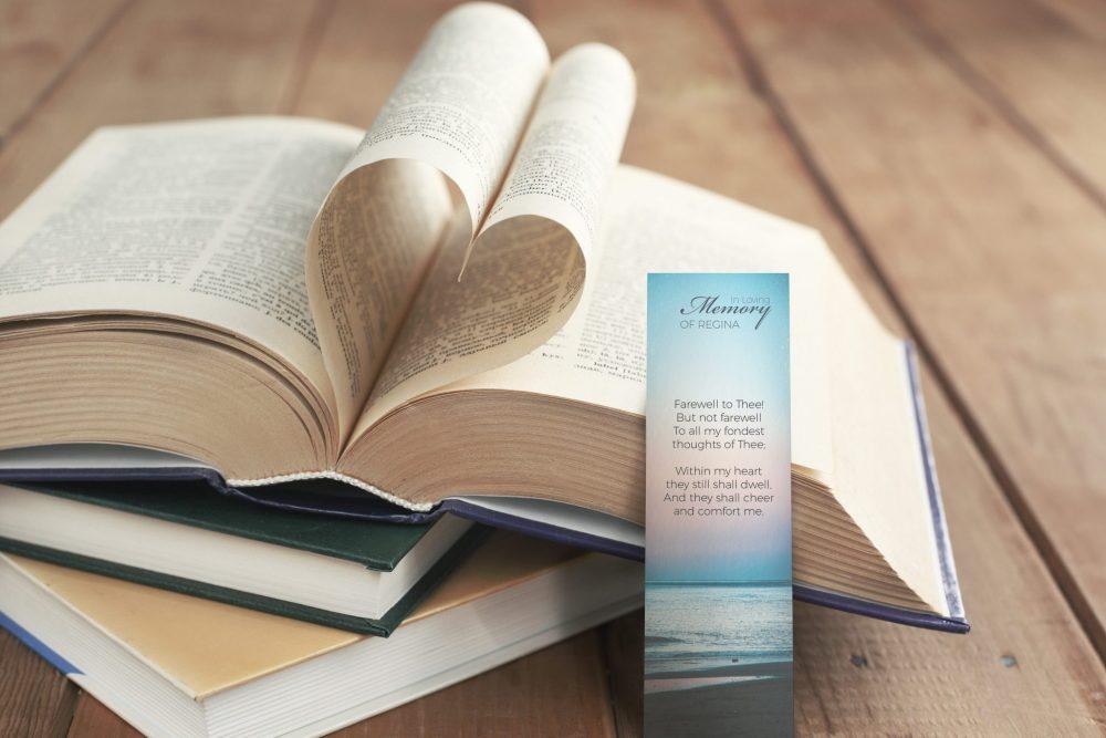 bookmark loving heart